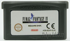 Game Final Fantasy 4 - IV Nintendo Game Boy Advance GBA Sp / DS Lite / Pal Eur