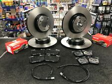 BMW M135I F20 BRAKE DISCS WITH MINTEX BRAKE PADS FRONT REAR 340MM + 345MM