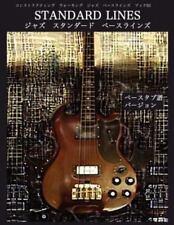 Constructing Walking Jazz Bass Lines Book III - Standard Line - Japanese Bass Ta