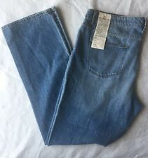 New TALBOTS Woman Signature Straight Leg Jeans Size 16/33 Light Blue