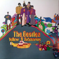 THE BEATLES~Yellow Submarine ~1984 UK issue of the 1969 13-track stereo vinyl LP