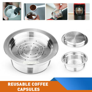 For LAVAZZA A MODO MIO Reusable Coffee Capsules Compatible Stainless Steel