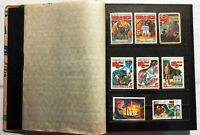 1970-80s Postage Stamps Collection Album Space Cosmonauts Aviation Russia