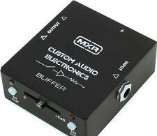 Dunlop MXR Custom Audio Electronics Signal Buffer Guitar Effects Pedal MC406