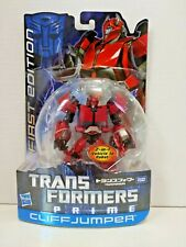Takara Transformers Prime First Edition Deluxe Class Cliffjumper