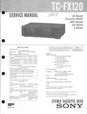 Sony Original Service Manual für TC-FX 120