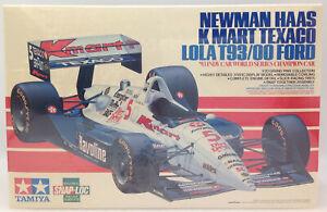 1993 Tamiya Newman Haas K Mart Texaco Lola T93/00 Ford 1/20 Item 20040 ~ Sealed