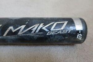 """Easton Pre owned Mako Beast Model YB17MK12 28"""" 16oz 2 1/4"""" Barrell"""