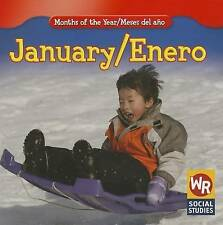 January/ Enero (Months of the Year/Meses Del Año) (English and Spanish Edition)