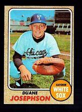 1968 Topps Duane Josephson #329 Chicago White Sox NM VINTAGE  Baseball Card