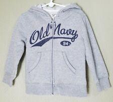 Old Navy Toddler Hooded Sweatshirt 4T Zip Up