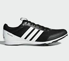 ⚫ Adidas Distancestar  Spikes Running Shoes ( Men Size UK 11 EUR 46 ) Black