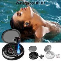 True Wireless Bluetooth 5.0 Earbuds Mini Twis Noise Cancelling Headset Earphone