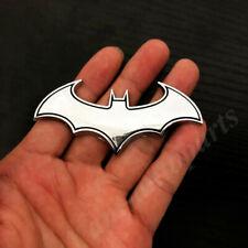 3d Metal Chrome Batman Dark Knight Mask Car Trunk Emblem Badge Decals Sticker