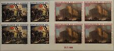 KONGO BRAZZAVILLE 1968 163-4 U ex C62-6 4x Paintings Gemälde Bastille Revolution