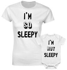 So Sleepy Not Sleepy Mum Mummy Son Mother Daughter Family Pjs Matching T  shirt 238702feb