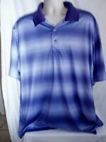 Ben Hogan Men's Performance Blue Polo/Golf Short Sleeve Shirt 2XL