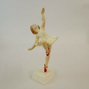 Royal Worcester Figurine Red Shoes 3258 GF G Doughty Dancer