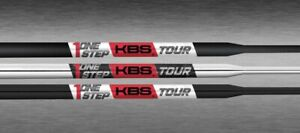 NEW KBS TOUR ONE STEP Putter Shaft. Choose Finish. .370 Tip