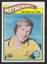 Topps - Footballers Scottish 1978 - # 16 Peter Millar - Motherwell