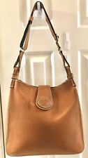 Authentic Dooney & Bourke Florentine Leather Buckley Crossbody Bag Natural Brown