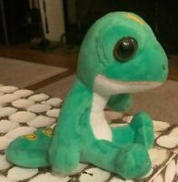 Geico Gecko Lizard plush Stuffed Animal Toy Mascot CUTE