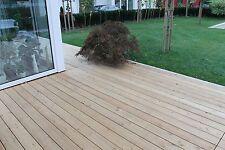 Terrassendielen 28x118 mm sibirische Lärche Glatt  Holzterrasse A Ware