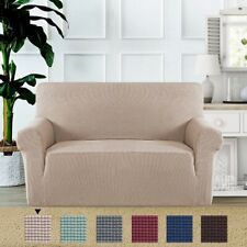 Stretch Sofa Covers 2 Seat Love Seat Covers for Living Room Sofa Slipcover