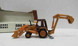 Vintage ERTL Case 580 Super E Loader Backhoe 1/64 No.202 1988