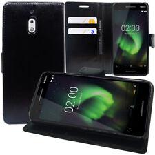 """Pour Nokia 2.1 (2018) 5.5"""" Étui Coque Housse Portefeuille En Cuir Antichoc"""