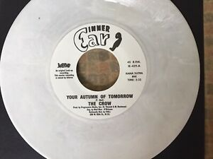 White Vinyl - The Crow - Your Autumn Of Tomorrow/ Uncle Funk