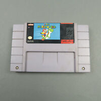 Super Mario World Working Save Authentic Tested SNES Super Nintendo