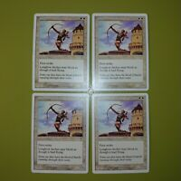 Longbow Archer x4 - 7th Seventh Edition - Magic the Gathering MTG 4x Playset