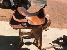 Billy cook reining saddle