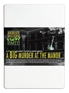 A Big Murder, at the Manor Murder Mystery Flexi Party - 6-20 players