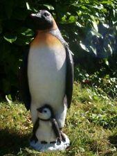 Gartenfigur PINGUIN Figur KAISERPINGUIN lebensgroß 61cm Figur Hotant