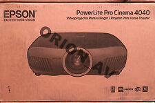 Epson Pro Cinema 4040 3LCD Projector w/ 4K Enhancement and HDR 4040UB Brand New