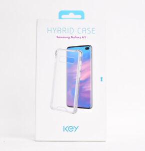 """Key Hybrid Case for Samsung Galaxy S10 Plus 6.5"""" - Clear"""