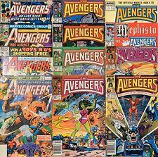 Avengers 12 Issue Lot 180 200 220 239 281 282 284 286 287 292 Mephisto 4 Index 1