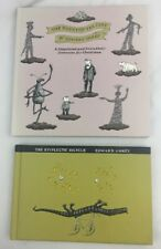 Edward Gorey Vtg Books Haunted Tea Cosy First Edition & The Epiplectic Bicycle