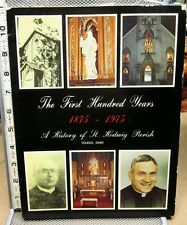 ST. HEDWIG PARISH church First Hundred Years book 1875-1975 Toledo history OHIO