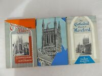 English Abbeys Cathedral Church of Worcester Hereford Books Bundle Job Lot