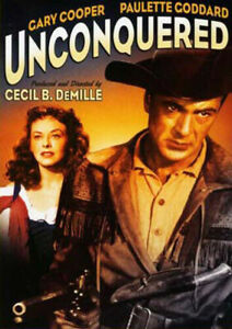 Unconquered DVD 1947 Cecil B. DeMille - Gary Cooper War Movie Revolutionary