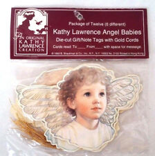 KATHY LAWRENCE Angel Babies Gift Note Tags (Set of 12) MINT/SEALED Shackman