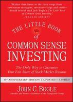 Little Book of Common Sense Investing, Hardcover by Bogle, John C., Like New ...