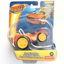 Blaze & The Monster Machines Fisher-Price Die-Cast Metal Race Car BLAZE Toy NEW