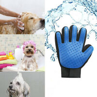 Pet Dog Grooming Cleaning Glove Deshedding Hair Removal Massage Brush