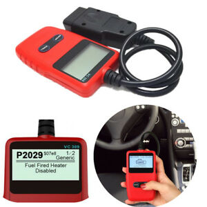 The VC309 OBDII/EOBD Code Reader Clear Generic and Manufacturer Specific DTCs
