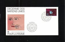 FIRST DAY ISSUE UNITED NATIONS GENEVA DECENNIE POUR LA FEMME 1980 FDC
