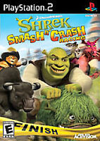 Shrek: Smash n' Crash Racing (Sony PlayStation 2, 2006) Complete